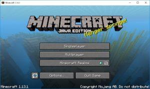 Minecraft起動