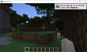 Minecraft World生成。いきなり狼
