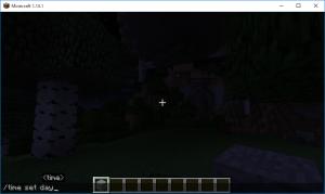 Minecraft コマンドテスト 夜